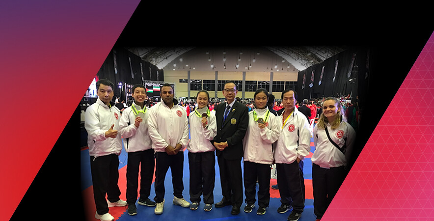 The junior karatedo team captured 1 silver and 2 bronze medals at the 15th AKF Cadet, Junior & U-21 Championships held from 24-28 November in Indonesia.