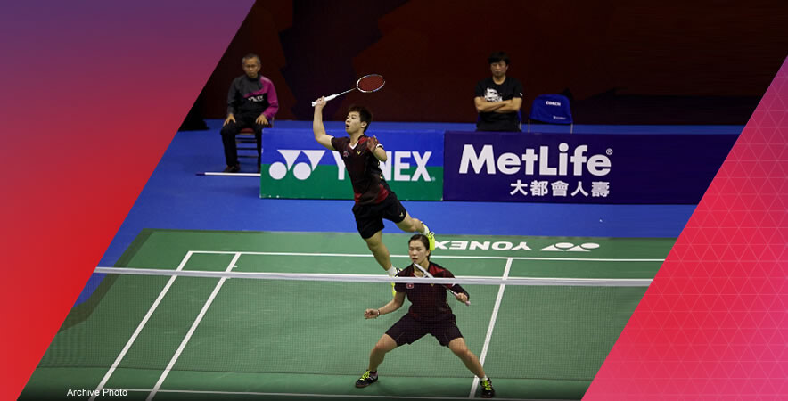 The Hong Kong badminton pair Chau Hoi-wah & Lee Chun-hei earned a bronze medal in Mixed Doubles at the Badminton Asia Championships 2017.