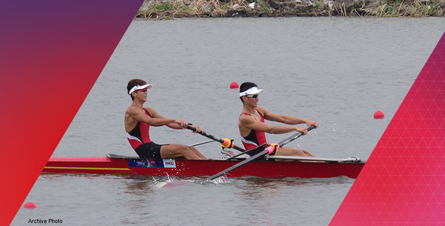 Hong Kong rowing team returned with 5 medals at the 2017 Asian Rowing Championships.