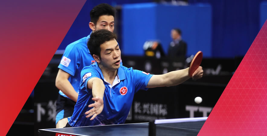 The Hong Kong table tennis team ended with two bronze medals in Women's team and Men's double at the 23rd ITTF- Asian Table Tennis Championships 2017