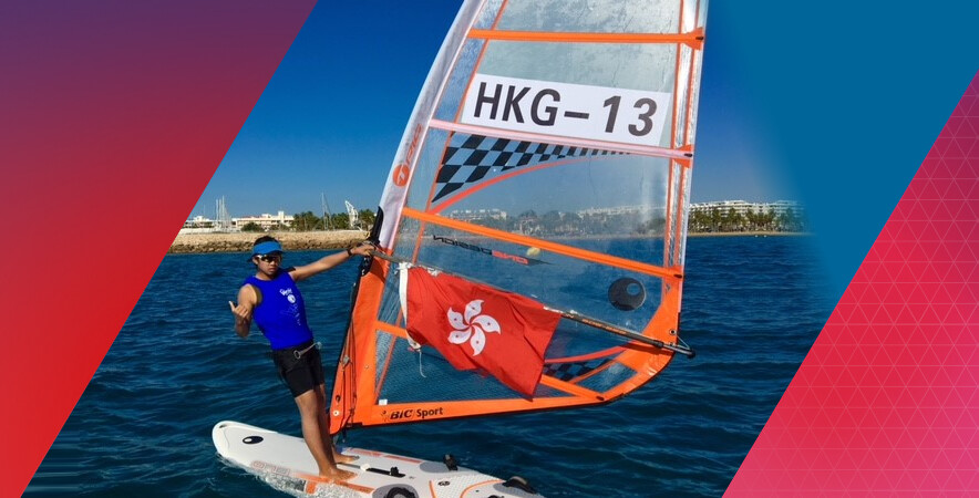 Hong Kong junior windsurfer Mak Cheuk-wing captured a silver medal in girls U15 at the 2017 Techno 293 World Championships.