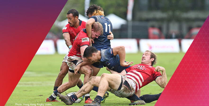 Hong Kong men's sevens team beat Japan in the final of the 3rd round of the Asia Rugby Sevens Series 2017, finishing second overall and qualifying for the Rugby Sevens World Cup next year.