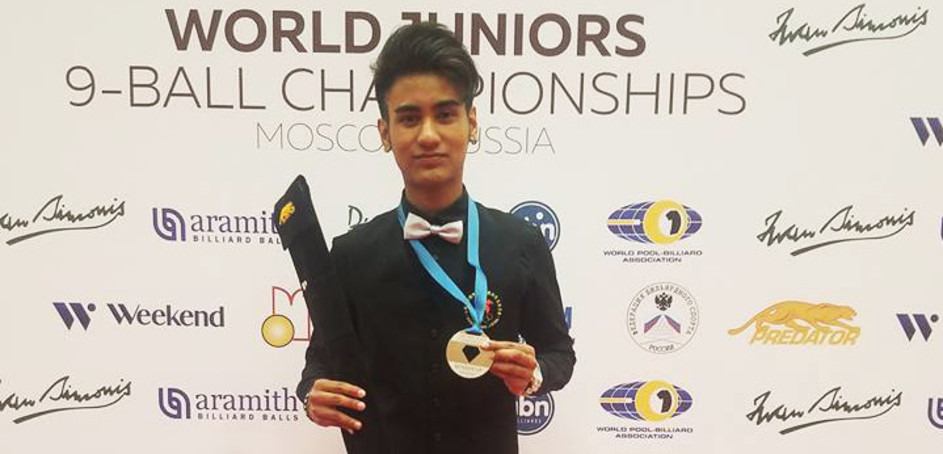 Robbie James Takes World Junior Silver