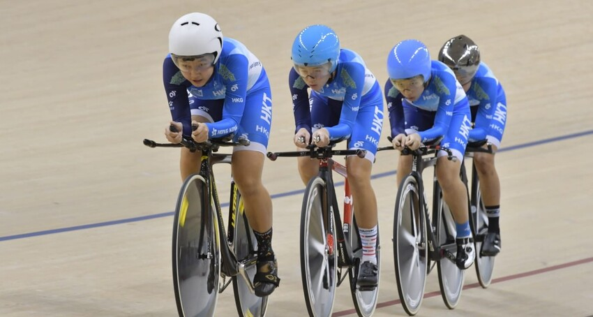 Hong Kong cycling team captured 4 gold, 4 silver and 3 bronze medals at the Asian Track Cycling Championships 2019.
