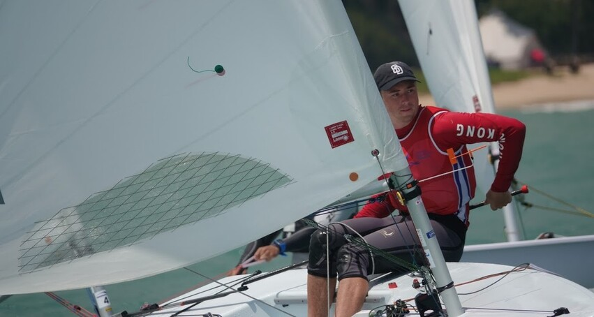 Hong Kong Sailor Takes Silver at Asian Championship