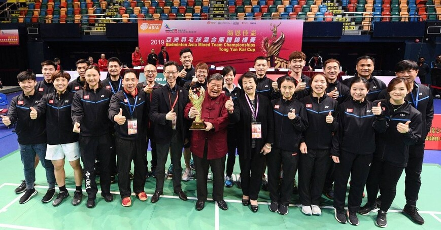 First Bronze at Badminton Tong Yun Kai Cup