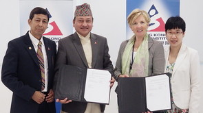 Memorandum of Understanding Signing with Sports Science Academy of Nepal