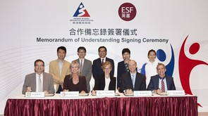 Memorandum of Understanding Signing with English Schools Foundation