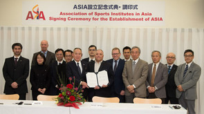 Memorandum of Understanding Signing for Establishment of Association of Sports Institutes in Asia
