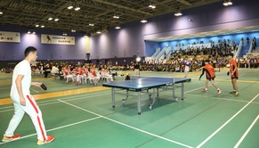 Mainland Olympians Delegation Exchanges with Future Sports Stars at HKSI