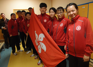 Vol.11, 2017 : Hong Kong Team dominates at INAS World Table Tennis Championships with 21 medals