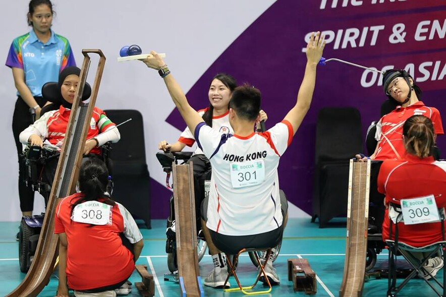 Photo: Hong Kong Paralympic Committee & Sports Association for the