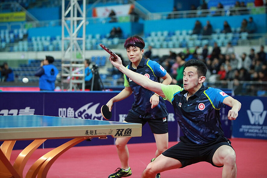 From left: Doo Hoi-kem, Wong Chun-ting (Photo: ITTF)