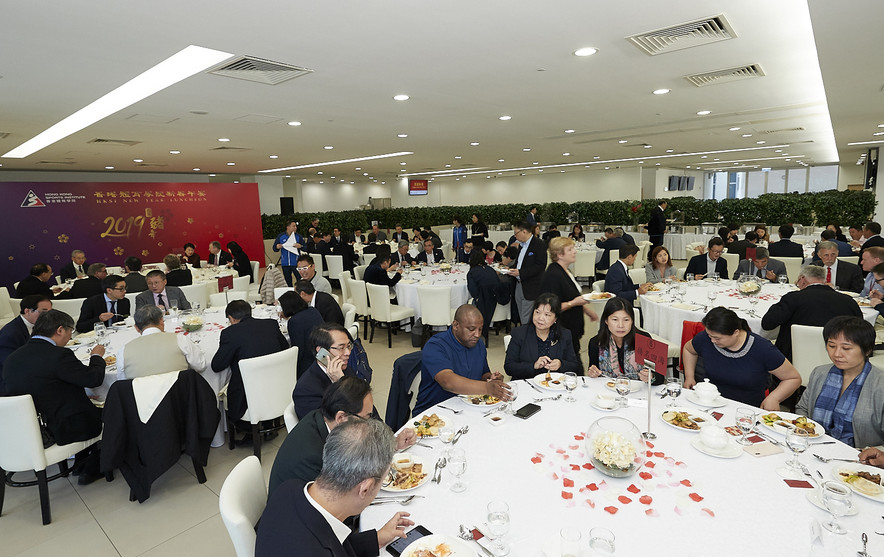 Over 100 guests were invited to celebrate the Chinese New Year at