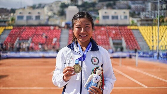Eudice Chong (Photo: Hong Kong Tennis Association)