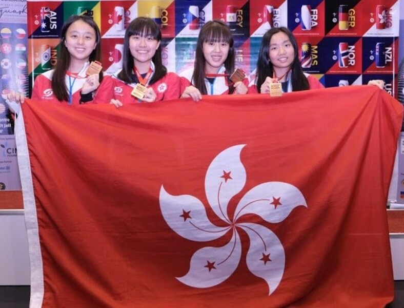 From left: Wong Po-yui, Lee Sum-yuet, Fung Ching-hei and Chan Sin-yuk