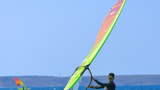 鄭俊樑(圖片來源:International Windsurfing Association​)