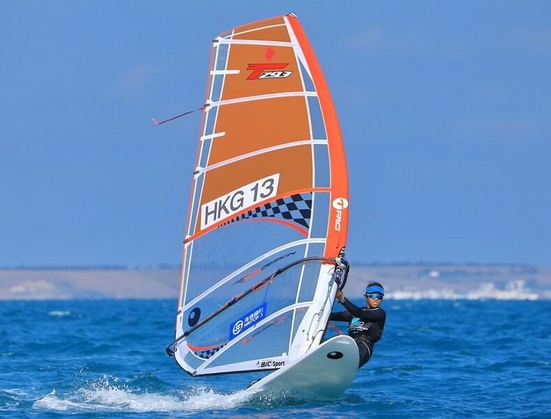 Mak Cheuk-wing (photo: International Windsurfing