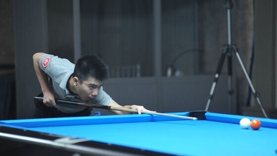 Fu Huan (Photo: The Cyprus Pocket Billiard Federation)