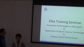 Innovative Technologies in Elite Sport & Application of Sports Science Technology to  Enhance Sports Performance [ Part 4 ]